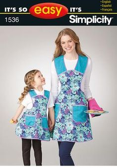 Simplicity Creative Group - It's So Easy Child's and Misses' Apron