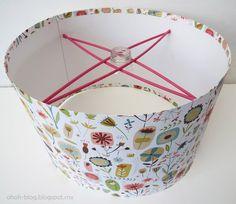make a lampshade craft-decor-aka-stuff-i-ll-prolly-never-do