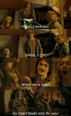 ♪Viktor, I love you♪