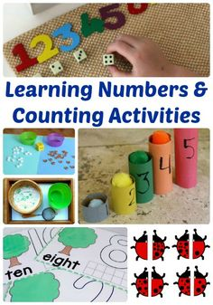 Learning Numbers and Counting Activities | The Jenny Evolution