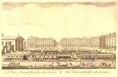 Lord Trevelin, my slueth in The Devil in Beauty, takes his love interest to a play at the opera house in Covent Garden. Uk History, London History, Vintage London, Old London, London Illustration, English Architecture, Somewhere In Time, Tourist Sites, Golden Days