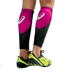 Asics calf sleeves Completely new in package, never used.  Used to compress calves while running. Sizing provided on inside tag. Offers and bundling deals welcome!  Thanks! :) asics Shoes Athletic Shoes