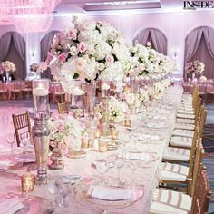 So lush & dreamy! (: Perez Photography, Floral design: @BFLive, Consulting: @EmilyClarkeEvents) #InsideWeddings #EditorsCircle #WeddingReception #ReceptionDecor #WeddingFlowers #WeddingFlowersDecor #DallasWedding #DallasWeddingPlanner #WeddingPlanner #WeddingPlanning #WeddingDesign #WeddingDecor #WeddingStyle #FloralDesigner #Tablescape #TableDesign #TableDecor #PlaceSetting #TableSetting #WeddingTable