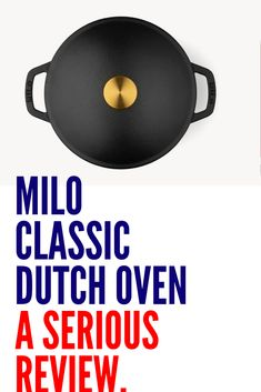 The Milo Classic Dutch Oven is a french-inspired, enameled cast iron wonder. It simmers stews. Enter To Win, Washing Clothes, It Cast, Cast Iron, Giveaway, Things I Want, Dutch Ovens, American, Classic
