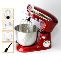 Electric Hand Held Mixer Electronic Handheld Fouet alimentaire Blender Batteur Gâteau