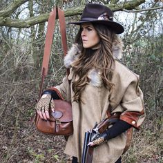 Hunting In Style In This Tweed Dubarry Marlfield Jacket