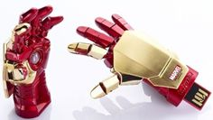 Iron Man 3 Gauntlet USB Drives are Fully Posable - IGN