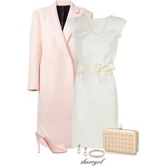 Rose Gold Valentines by sherryvl on Polyvore featuring Lanvin, Petar Petrov, Christian Louboutin, Valentino, Jon Richard and Tiffany & Co.