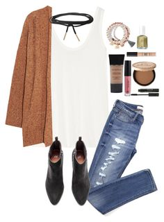 """""""miss cheer"""" by a-little-prep-in-your-step ❤ liked on Polyvore featuring The Row, Rebecca Minkoff, Humble Chic, ULTA, Anastasia Beverly Hills, Smashbox, Stila, Sydney Evan, Kim Rogers and Essie"""