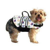 Dog Life Jacket Small Nautical 15-20 lbs