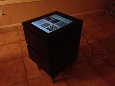 Borne d'arcade DIY avec une commode MALM