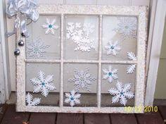 Snowflake Old Windows - Pretty