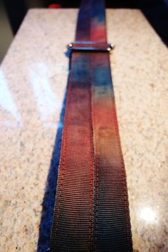Tracolla per chitarra  Guitar Strap Made in Florence di EliCreates, €25.00