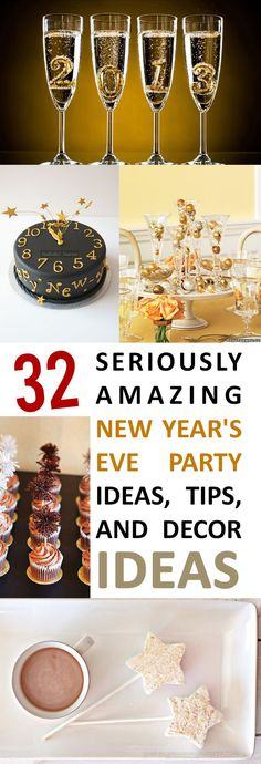 32 clever tips and tricks for the best party this New Years!