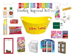 Total Tippins Takeover: back to school survival kit...