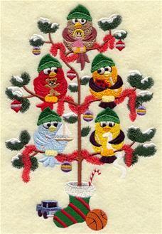 Santas Workshop Tree