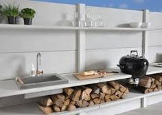 Image result for outside kitchen surface
