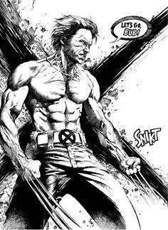 Wolverine by anghorkheng.deviantart.com on @DeviantArt
