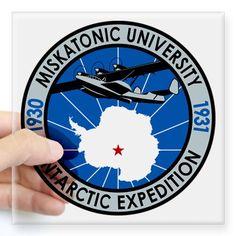 CafePress Miskatonic Antarctic Expedition - Square Sticker 3 Square Sticker 3 x 3 - Standard Clear CafePress http://www.amazon.com/dp/B00MNTZ1VO/ref=cm_sw_r_pi_dp_E6Y8ub0GAN587