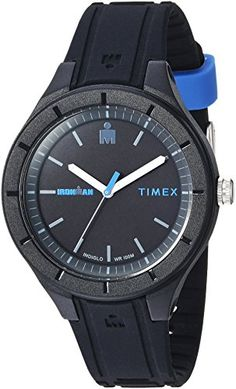 d3b0786de45d5 Timex Ironman Essential Urban Analog BlackBlue Silicone Strap Watch   Check  out this great product. (This is an affiliate link) · Daniel Wellington ...
