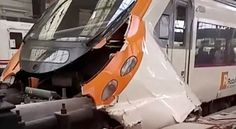 Madrid: A commuter train crashed into a railway buffer in Barcelona's Francia station, injuring 48 people, five of those seriously, emergency services said on Friday. There were no deaths reported. At least 18 of the injured need hospital attention, emergency services said. The driver was...