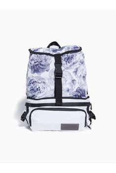 The Run Convertible Printed backpack from adidas by Stella McCartney  converts to a fanny pack for ultimate versatility and practicality on the  trail 9cf1ab6d81098