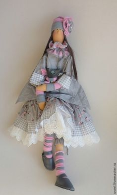 "Купить Кукла "" Кристина"" - кукла ручной работы, кукла Тильда, куклы и игрушки ♡"