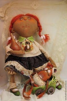 У нас дочка забалела... - примитив,примитивная кукла,примитивы,текстильная кукла
