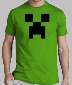 Creeper Minecraft 8 Bits (Camiseta)