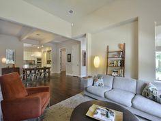 4005 Camacho ST, www.muellersilentmarket.com - Minimalist | Wood Floors | Elevated Ceilings | Living | Mueller Homes Austin Texas | Mueller Realtor | Mueller Development
