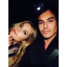We love this selfie of Tyler Blackburn and Ashley Benson. | Pretty Little Liars