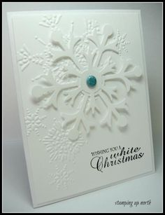 White Christmas.... less is more by lhs43 - Cards and Paper Crafts at Splitcoaststampers