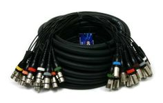 Elite Core 16 Channel 30' Audio XLR Snake by Elite Core. $119.99. Elite Core 16 Channel Snake - 30' XLR-XLR Extension SnakeProduct Description:The new Elite Core series extension snakes feature 24 AWG shielded lines, high quality connectors, and color coded connectors. These extension snakes are great for instances where you don't need a break-out box, but need to transfer your channels some length.Features16 Balanced XLR ChannelsHigh Quality connectorsAll lines 100% foil shielde... Sound Stage, Musical Instruments, Snakes, Core, Channel, Music Instruments, Instruments, Snake