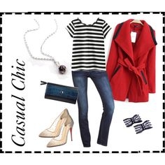 """Casual Chic"" by SweetPeaEtc on Polyvore  #DesignerClutch  #SwingCoat  #CasualOutfit   #CasualChic   #SweetPeaEtc   #Fall2014  #FallFashion  #FallFashion2014"