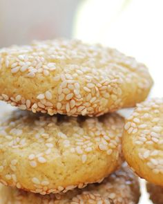 Low FODMAP and Gluten Free, Sesame Cookies  http://www.ibssano.com/low_fodmap_recipe_sesame_cookies.html