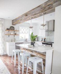 beamed kitchen ideas 7