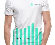 Real World Analytics - Brand Identity Design & Positioning - Brand Strategy - Tshirt Merchandise Design Brand Identity Design, Logo Design, Visual Analytics, Business Intelligence, Visual Identity, Cool Things To Make, Branding, World, Mens Tops