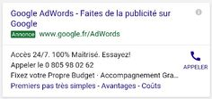 A good ad, cause it's a Google ad! #AdExample #GoogleAdWordsExample