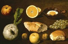 Unknown (Spanish) Studies of Food 19th Century