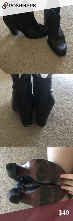 """Vince Camilo Black Booties Signs of wear and tear - 3.5"""" heel Vince Camuto Shoes Ankle Boots & Booties"""