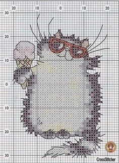 View album on Yandex. Cat Cross Stitches, Hand Embroidery Stitches, Cross Stitch Charts, Cross Stitch Designs, Cross Stitching, Cross Stitch Embroidery, Cross Stitch Patterns, Cross Stitch Alphabet, Cross Stitch Animals
