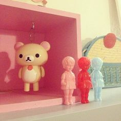 Clonette Good Excuses, Rilakkuma, Vinyl Toys, Designer Toys, Sanrio, Plushies, Decoration, Vintage Toys, Display