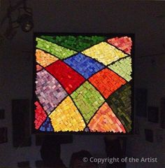 Fields of Dreams - Creemore by Suzanne Steeves  ~  Maplestone Gallery  ~  Contemporary Mosaic Art