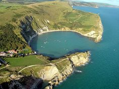 Lulworth Cove, Dorset, UK.