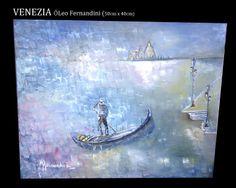 Venezia Óleo Fernandini Precio: 2000 dólares | Venta de Pinturas al óleo y acuarela de Patty Fernandini