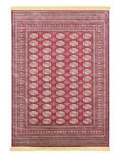 75% OFF Soraya Traditional Rug (Dark Red)