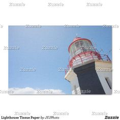Shop Lighthouse Tissue Paper created by JFJPhoto. Custom Tissue Paper, Small Gifts, Just Go, My Images, Lighthouse, Party Favors, Presentation, Arts And Crafts, Wraps