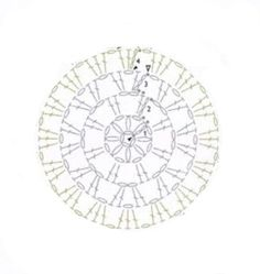 Hola chicas!!! Como os prometi en Facebook hace un par de días, aquí tenéis el patrón de la alfombra que me han encargado desde Sevilla, co... Crochet Potholders, Crochet Granny, Crochet Motif, Crochet Doilies, Crochet Stitches Chart, Crochet Diagram, Crochet Stitches Patterns, Crochet Diy, Crochet Home