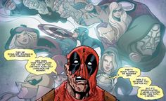 Deadpool Killustrated #4 Wade Wilson, Rabbit Hole, Tony Stark, Deadpool, Rocks, Fandoms, Marvel, In This Moment, Anime