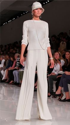 1920s-inspired fashion from S/S 2012 Ralph Lauren Collection